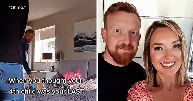 Dad of Four Who Thought He Was Done Having Children Has Hilarious Reaction to His Wife's Pregnancy