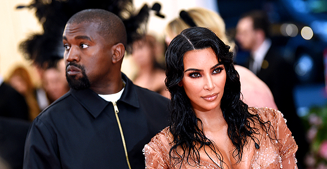 Kim Kardashian Spotted with Husband Kanye West at a Local Mexican Restaurant