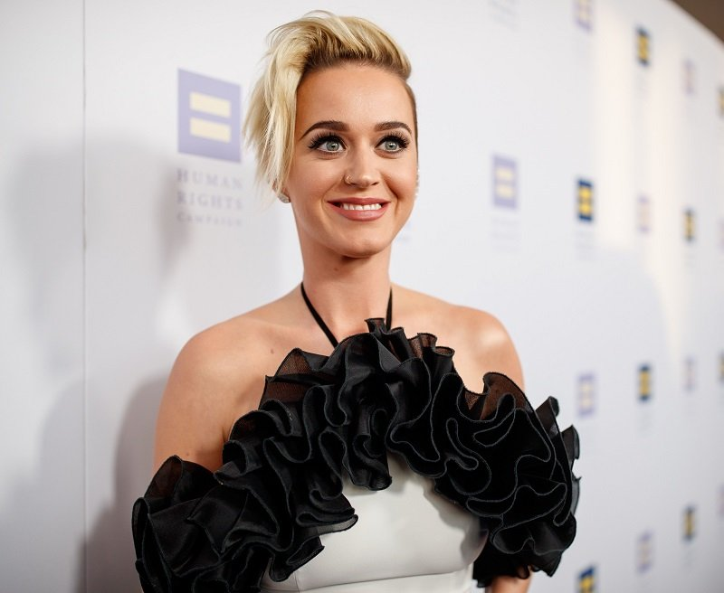 Katy Perry arriving to The Human Rights Campaign 2017 Los Angeles Gala Dinner in Los Angeles, California.  in March 2017. | Image: Getty Images.