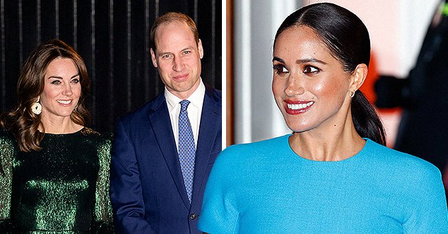 See Prince William & Kate Middleton's Greeting for Meghan Markle on Her 39th Birthday