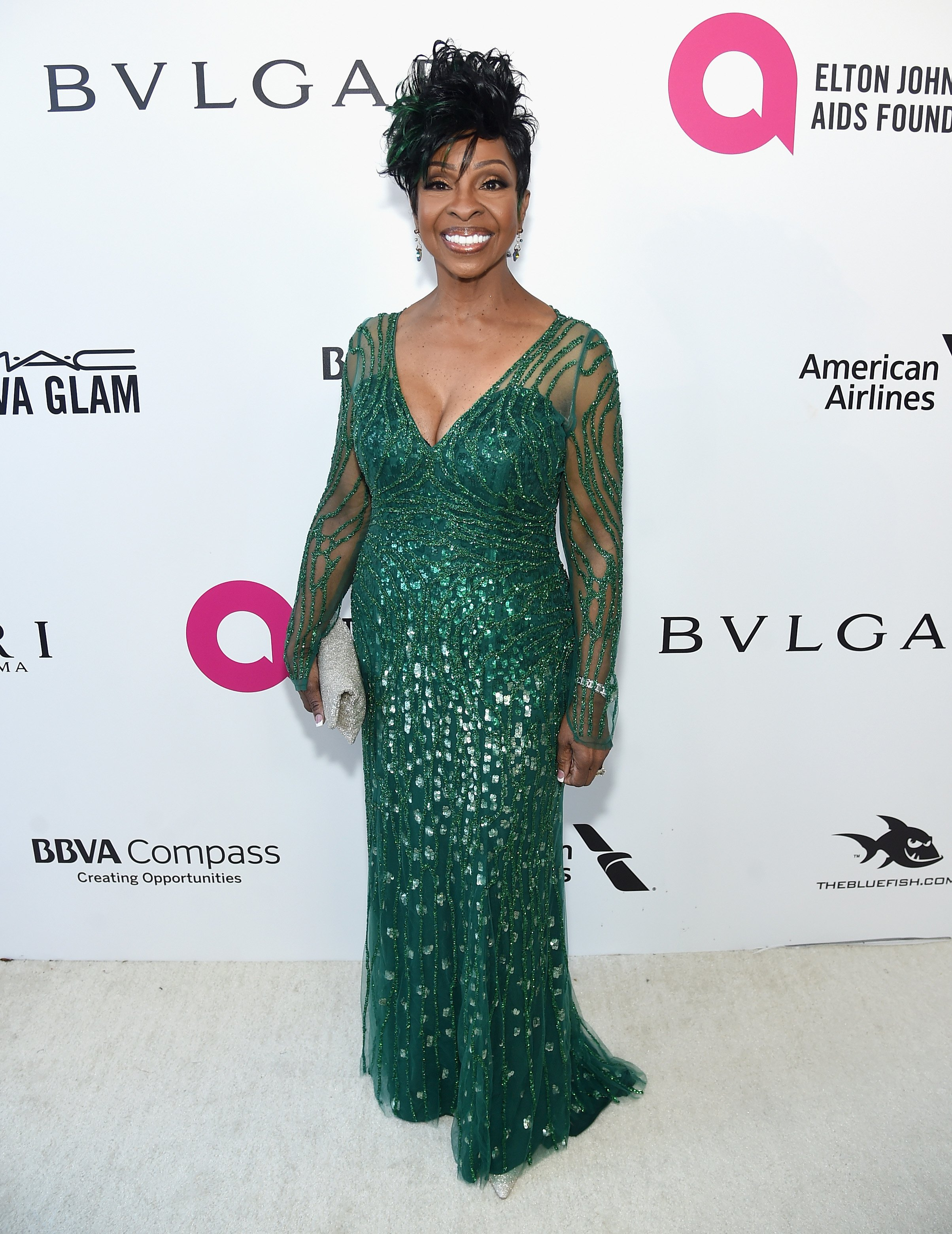Gladys Knight at the 26th annual Elton John AIDS Foundation's Academy Awards Viewing Party in California on March 4, 2018. | Photo: Getty Images.