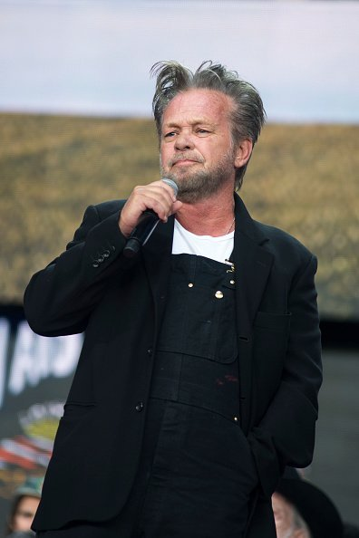 John Mellencamp speaking at the XFINITY Theatre in Hartford, Connecticut | Photo: Getty Images.