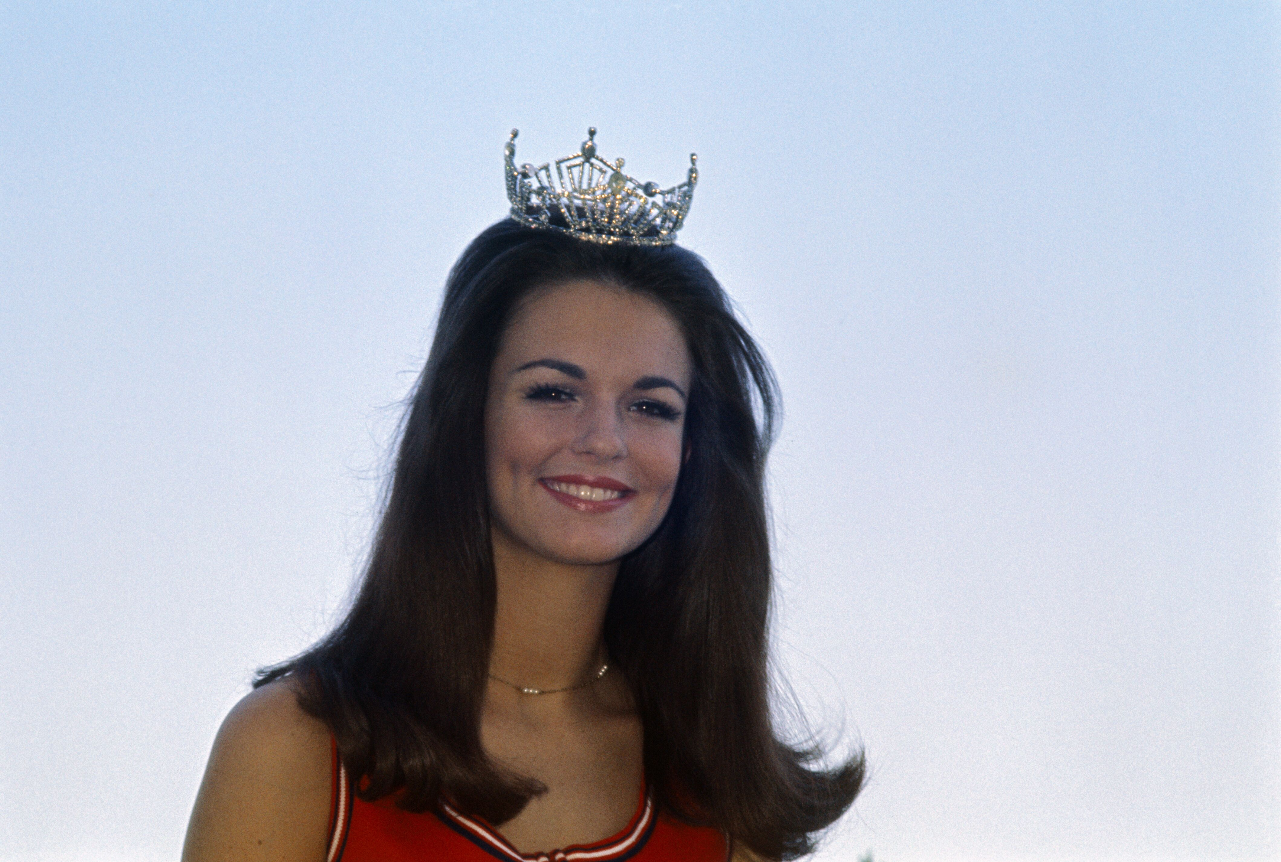 Phyllis George, crowned Miss Texas in 1970   Source: Getty Images