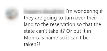 "A fan's comment on a post by ""Yellowstone."" 