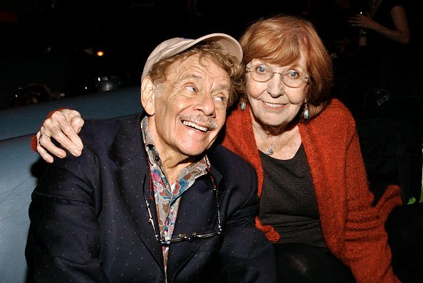 Jerry Stiller and Anne Meara at Lucky Strike Lanes & Lounge, New York, New York, October 29, 2009. | Photo: Getty Images
