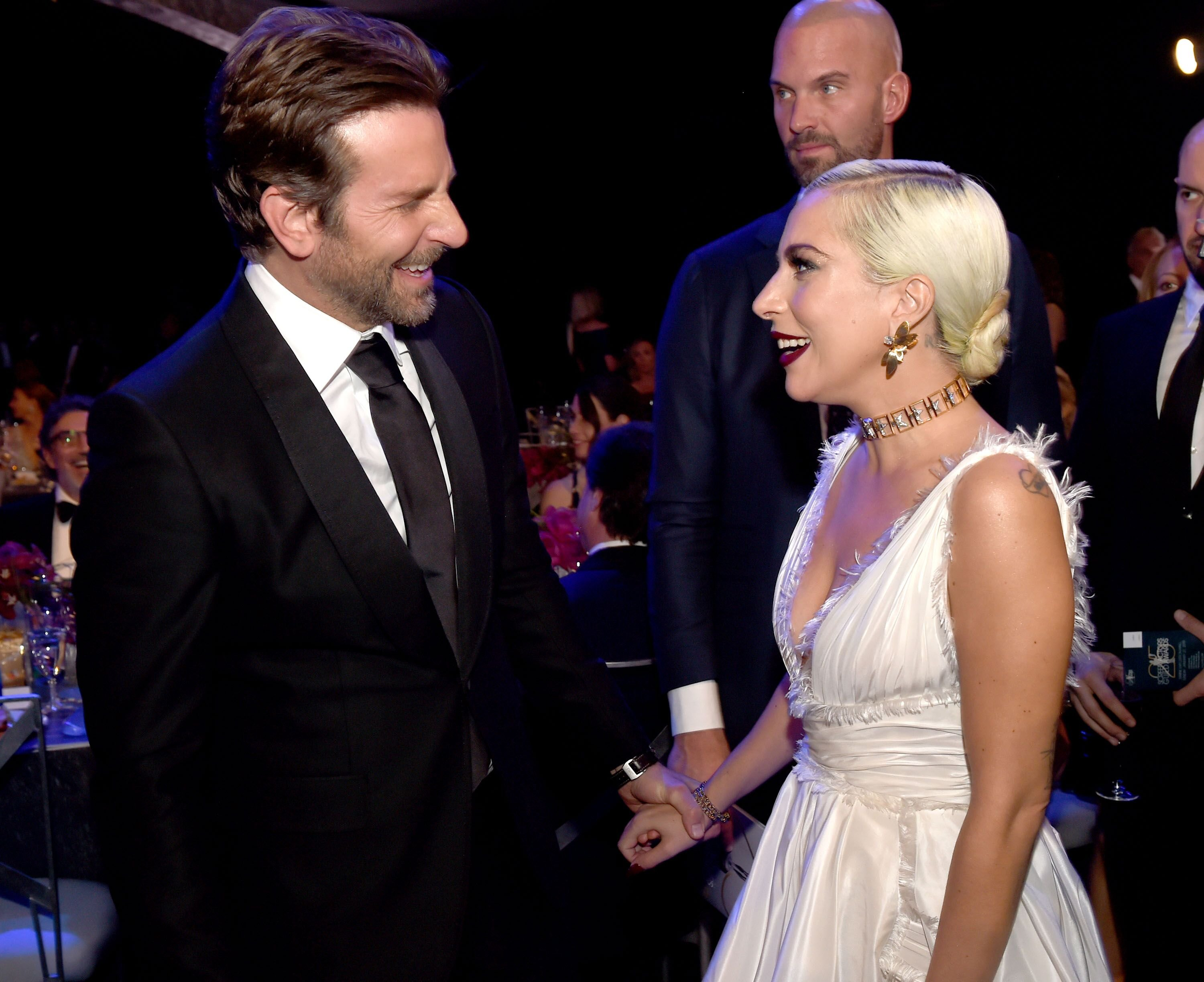 Bradley Cooper and Lady Gaga. | Source: Getty Images