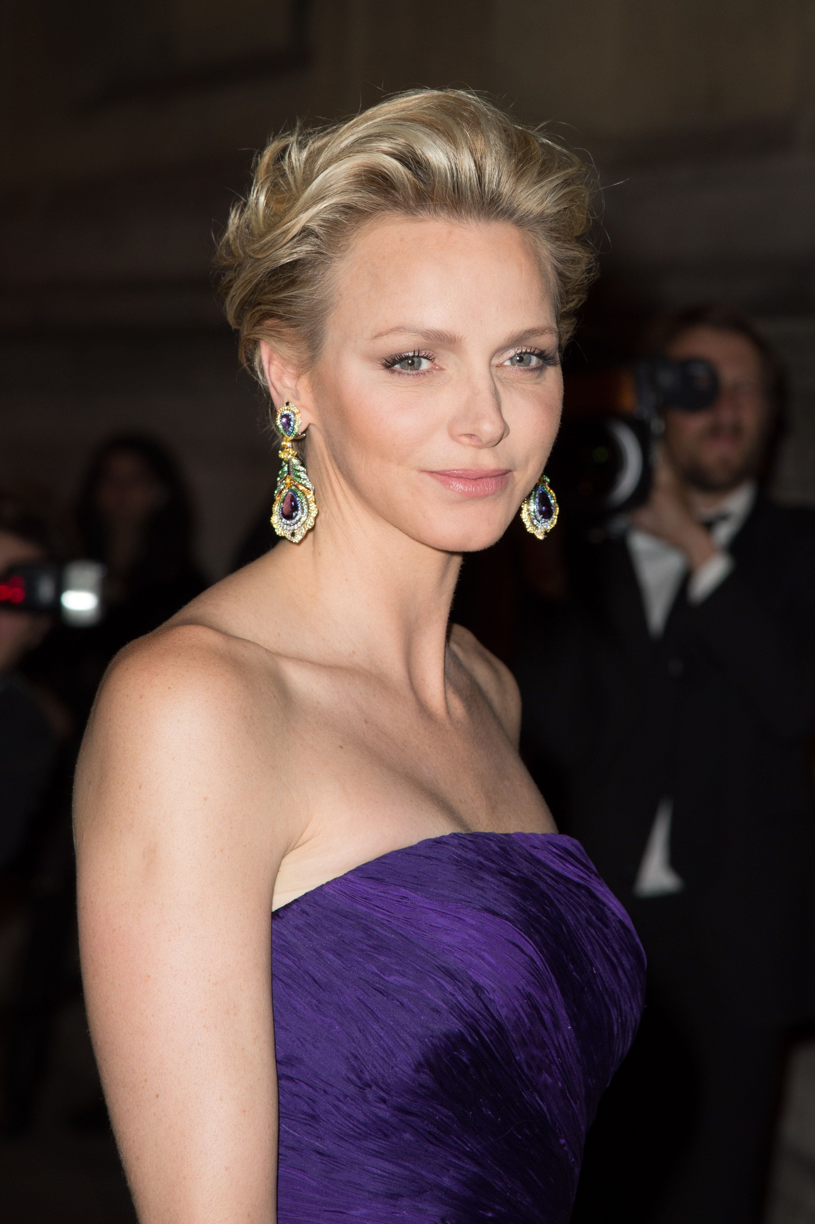 La princesse Charlène de Monaco aux Beaux-Arts de Paris le 8 octobre 2013 à Paris, France. | Photo : Getty Images