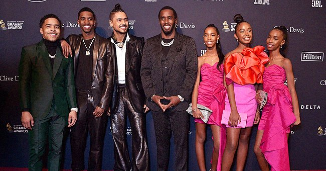 Diddy Poses With His 6 Kids in Trendy Festive Outfits — See the Heart-Melting Family Photos