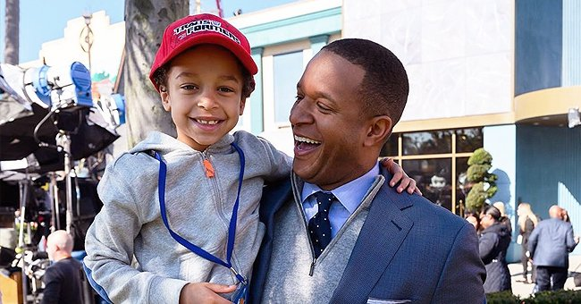 Craig Melvin's Son Delano Tells Some Jokes on the April Fool's Day Episode of 'Today'