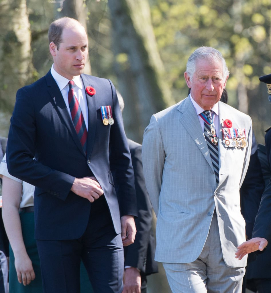 Le prince Charles et le prince William   photo : Getty Images