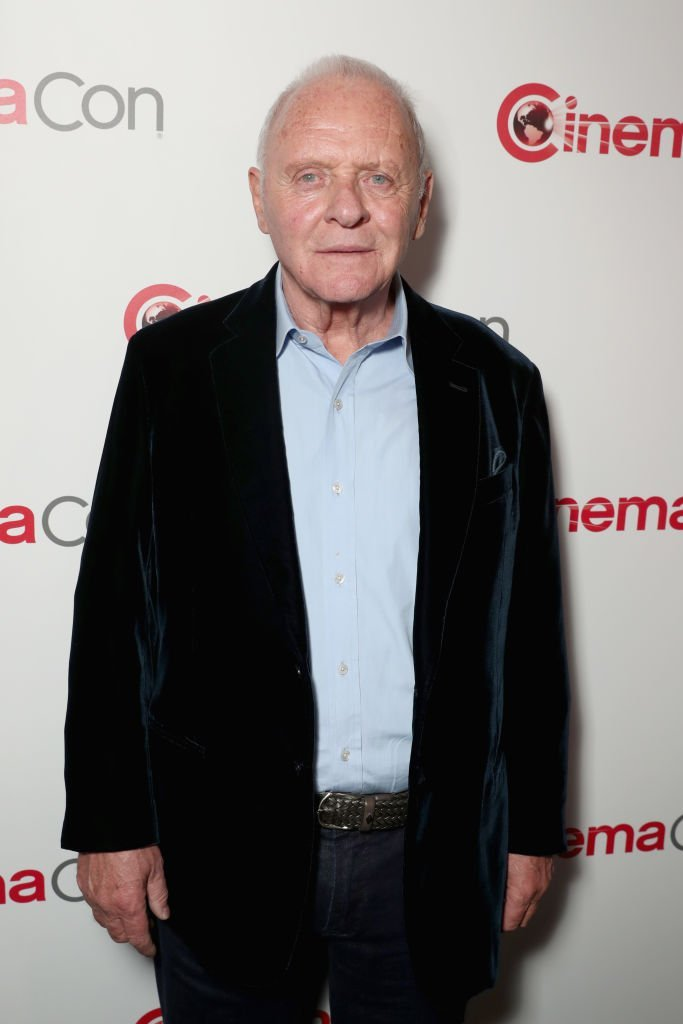 Anthony Hopkins at CinemaCon 2017 Paramount Pictures Presentation Highlighting Its Summer of 2017 and Beyond at The Colosseum at Caesars Palace | Getty Images