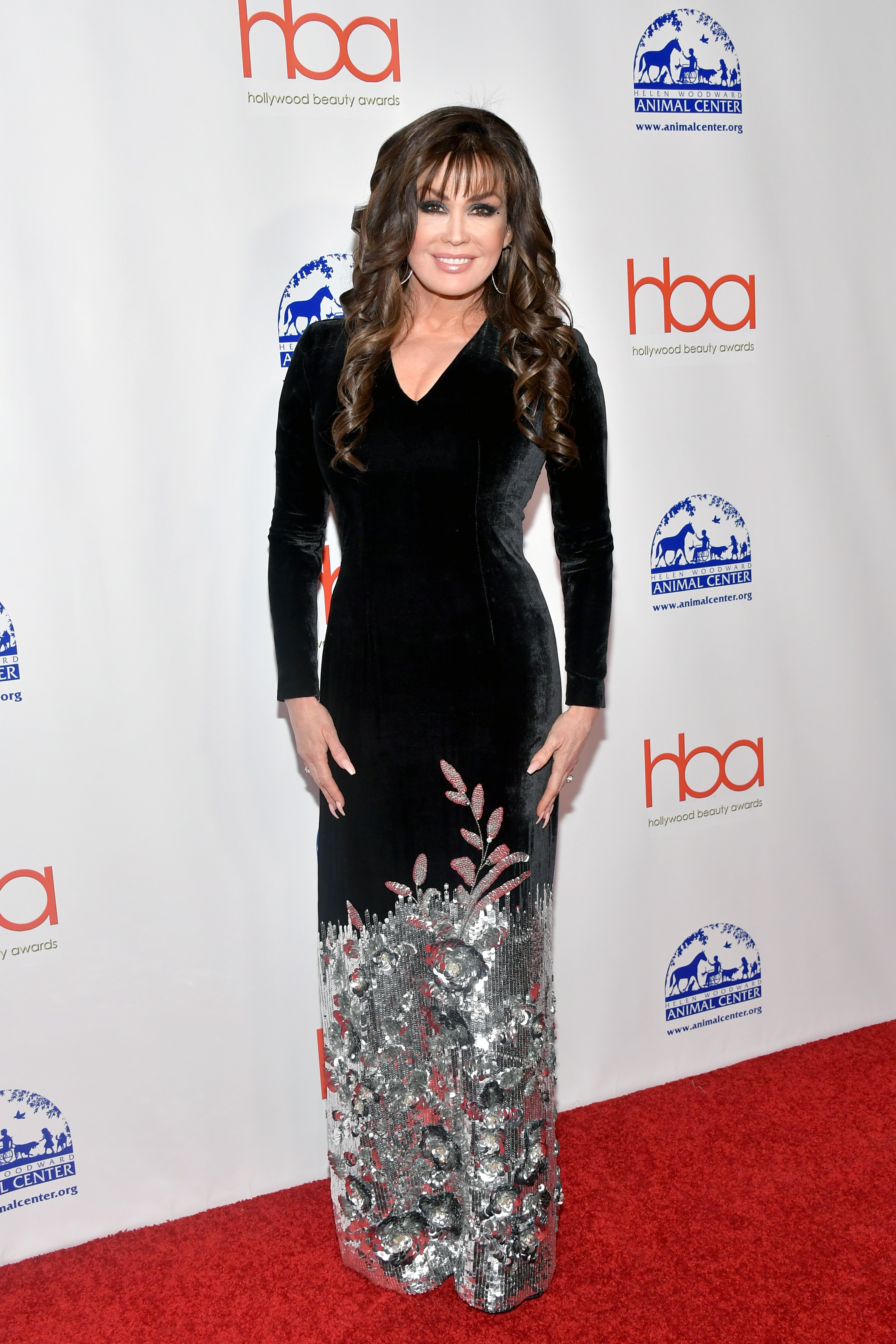 Marie Osmond attends the 2019 Hollywood Beauty Awards at Avalon Hollywood on February 17, 2019, in Los Angeles, California. | Source: Getty Images.