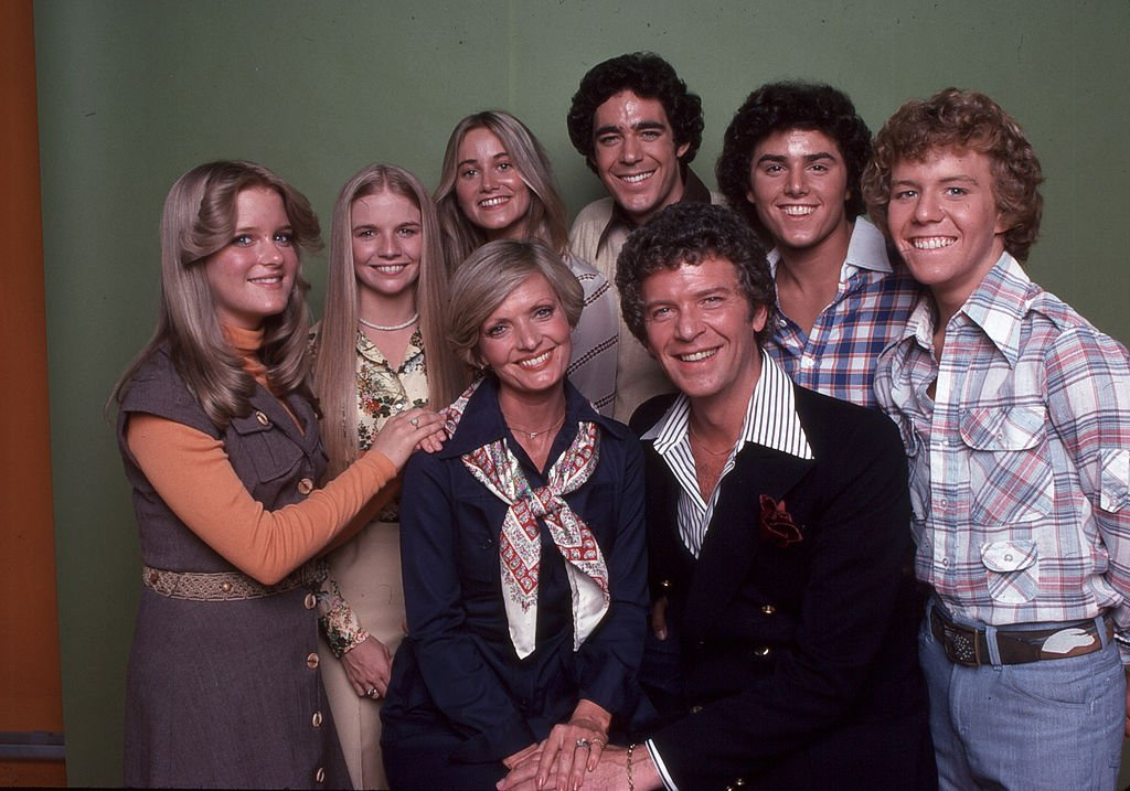 """Photo of """"The Brady Bunch"""" cast members 