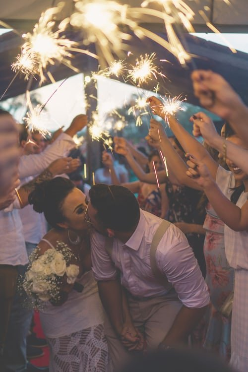 Rafael and I were married and little Gary was the best man | source: Unsplash