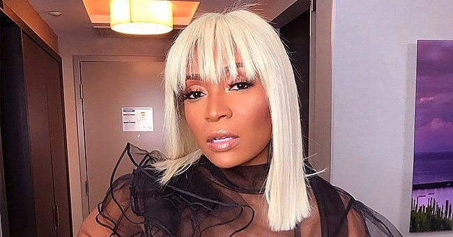 Marlo Hampton from RHOA Talks about Her Natural Hair & Why She Loves Wigs in IG Post