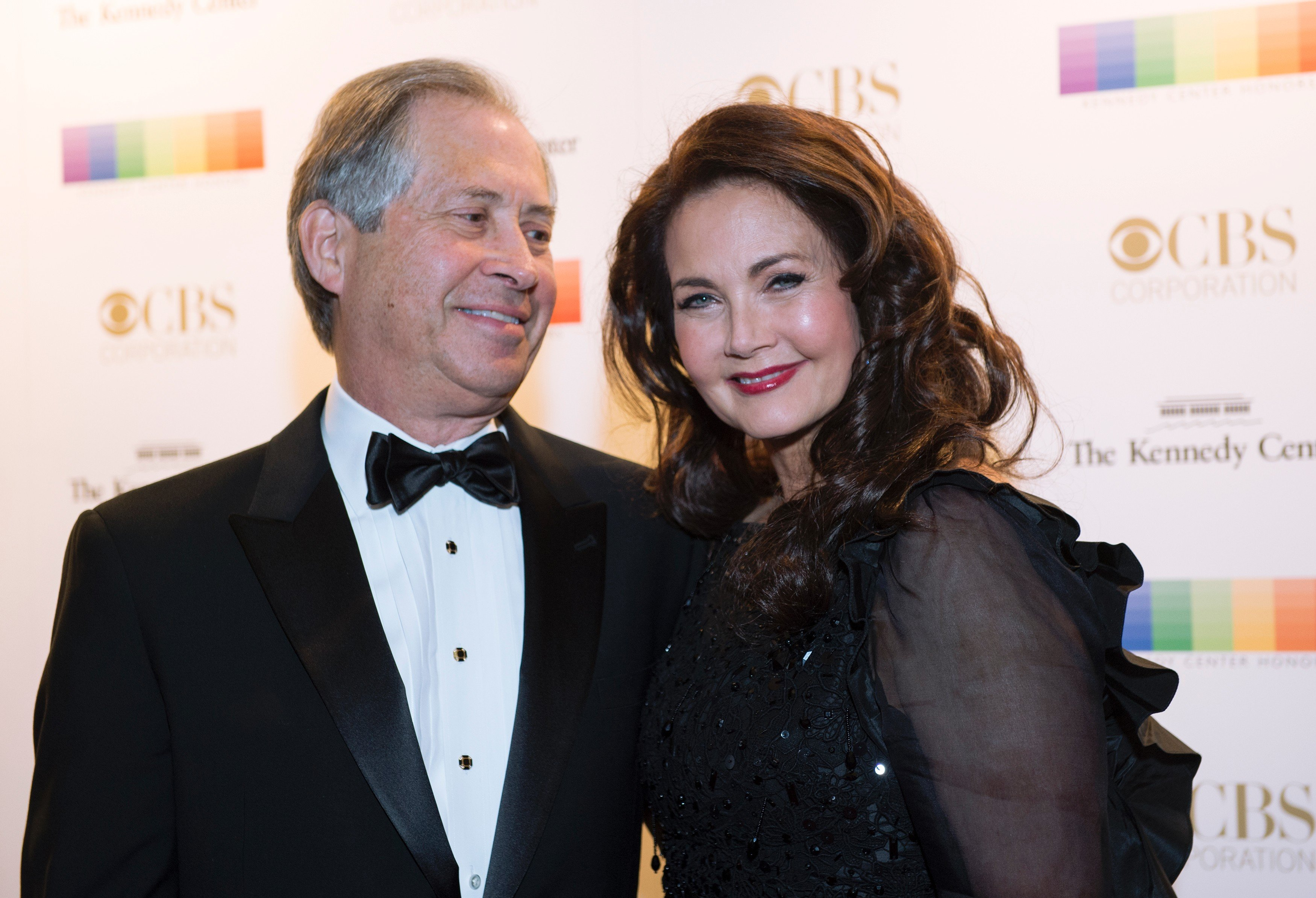 Lynda Carter and her late husband, Robert Altman, pictured at the 38th Annual Kennedy Center Honors, 2015, Washington, DC.   Photo: Getting Images