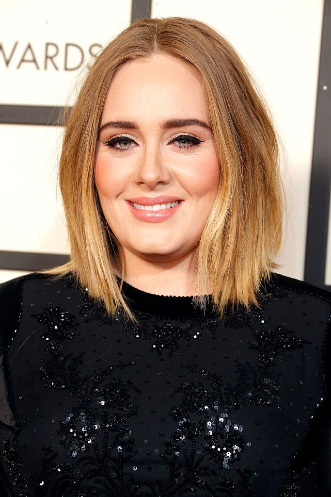 Adele at the 58th Grammy Awards at Staples Center in Los Angeles, California | Photo: Jeff Vespa/WireImage via Getty Images
