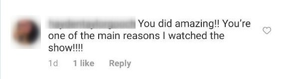 """A fan comments on Tyra Banks' looks on """"Dancing with the Stars"""" in November 2020 