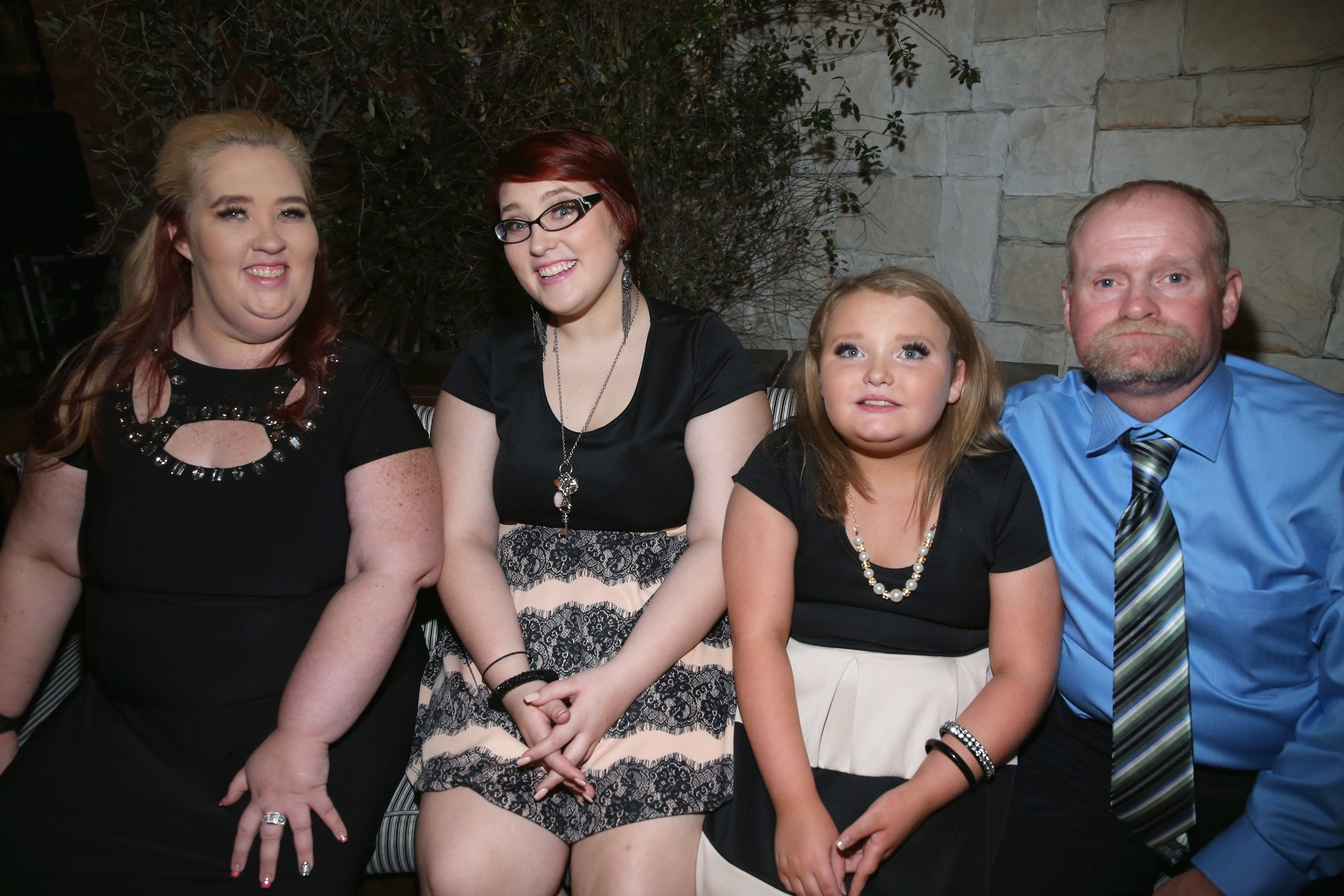 "Mama June, Pumpkin, Honey Boo Boo and Sugar Bear at the premiere of ""Marriage Boot Camp"" Reality Stars on November 19, 2015 