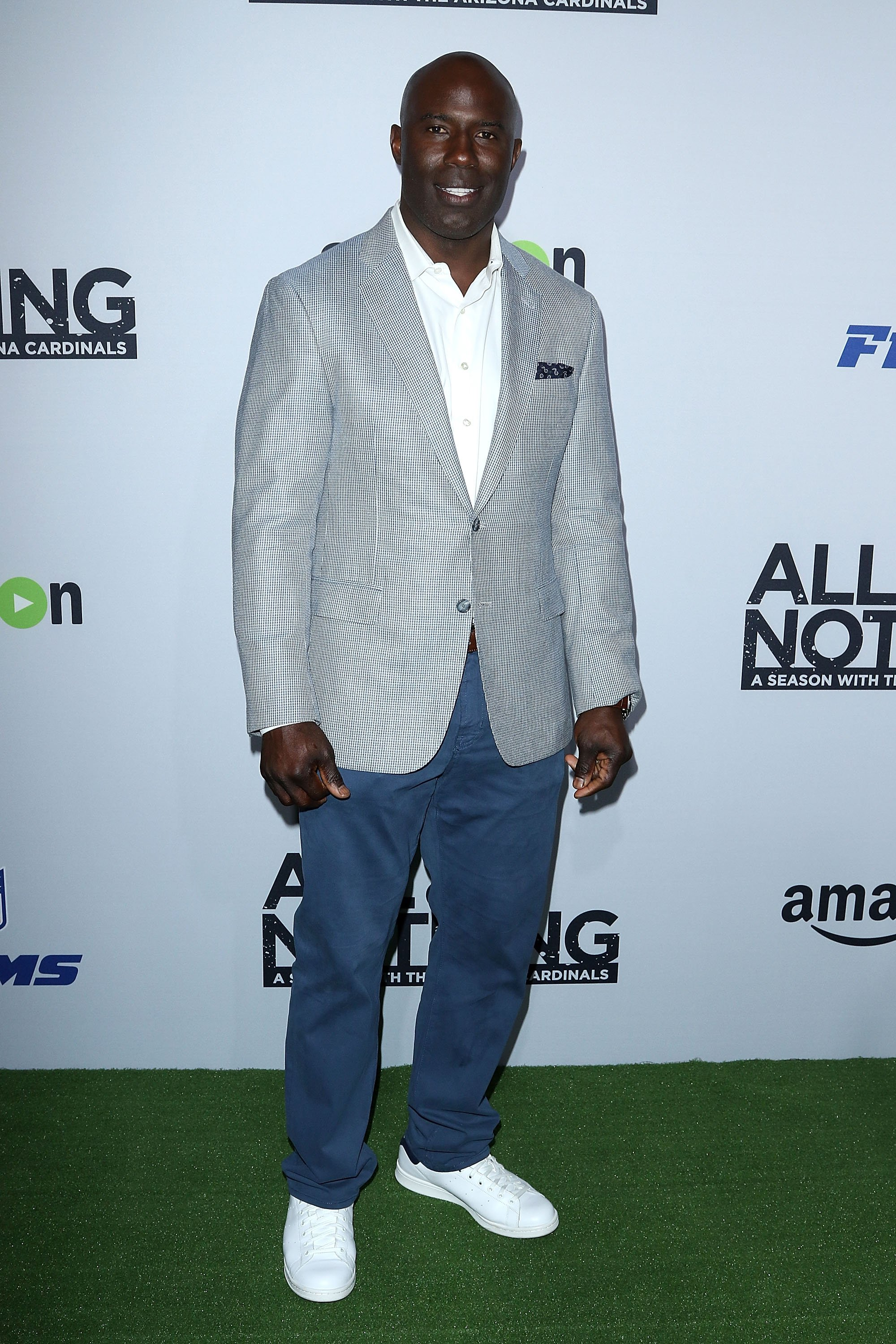 Terrell Davis attends the premiere of Amazon Video's 'All Or Nothing: A Season with The Arizona Cardinals' at Tom's Urban at L.A. Live on June 9, 2016 in Los Angeles, California. | Photo: GettyImages