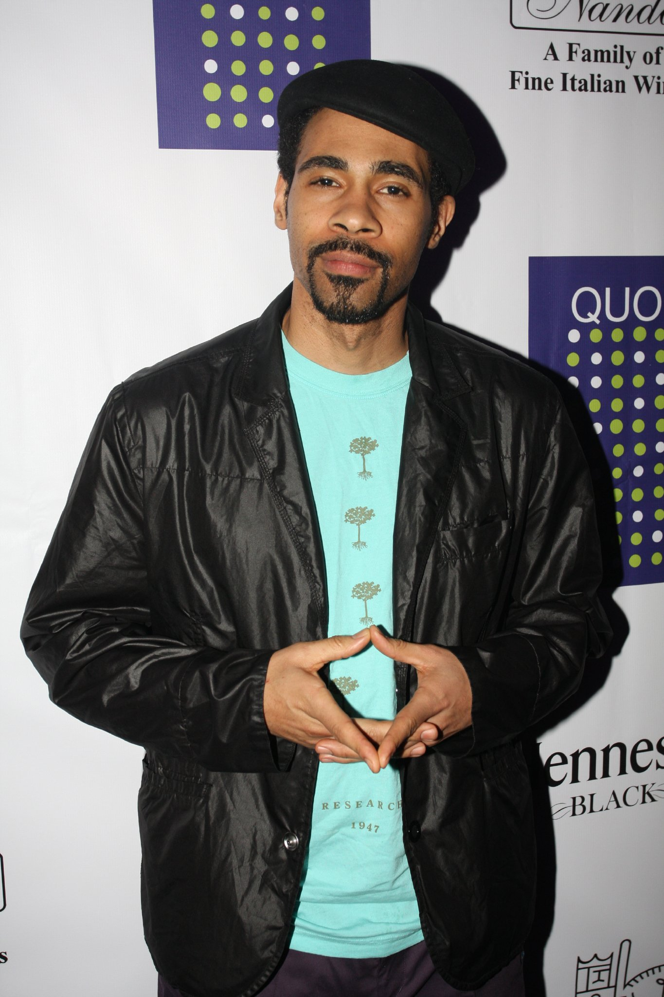 Actor Mel Jackson attends a Signature Hits Magazine party at Quo Nightclub | Getty Images