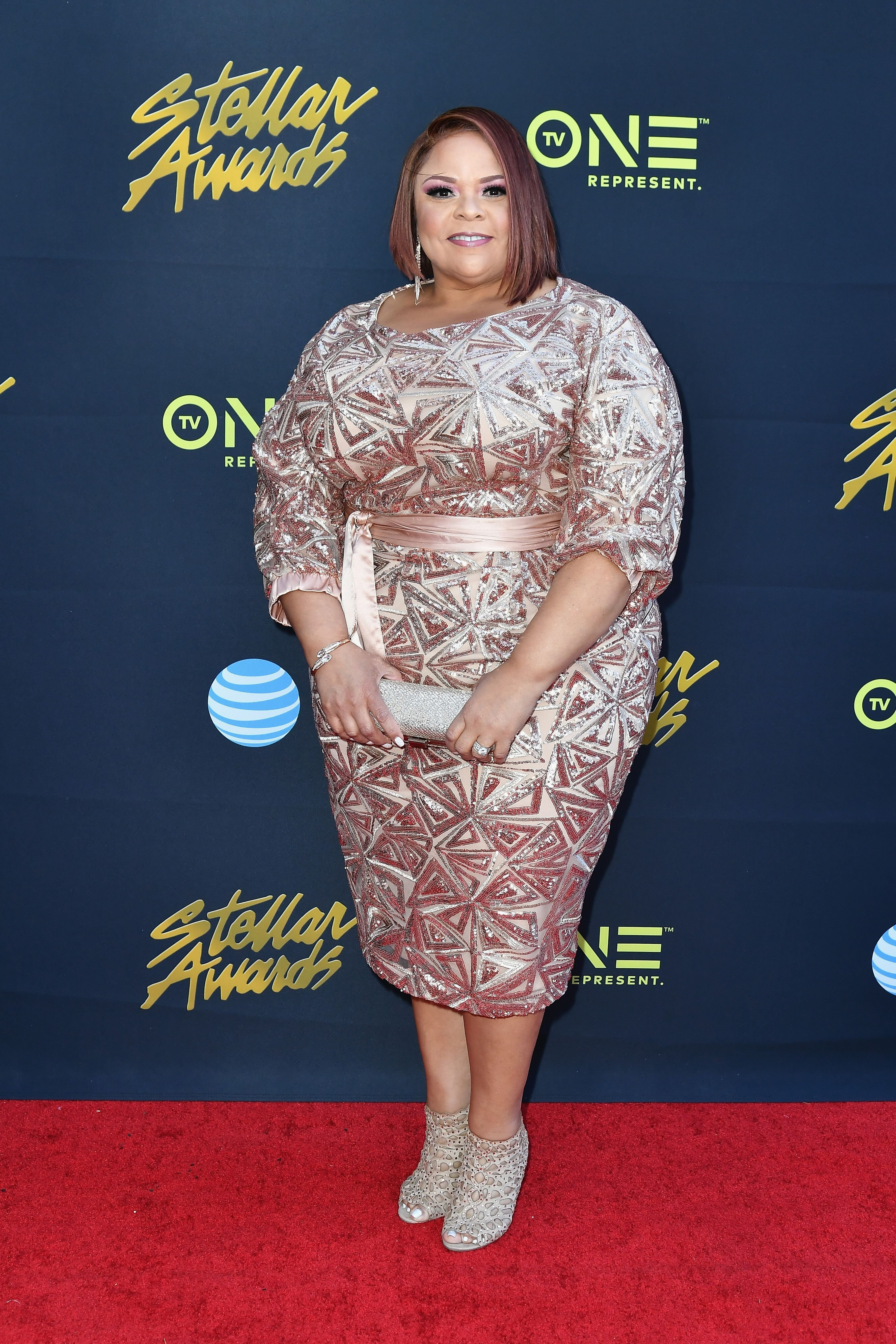 Tamela Mann at the Stellar Gospel Music Awards in March 2018/ Source: Getty Images