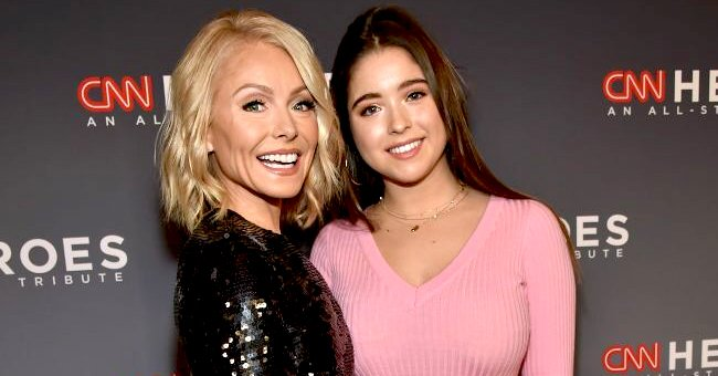 Us Weekly: Kelly Ripa Reveals Daughter Lola's a Little Stressed out over Her College Final Exams