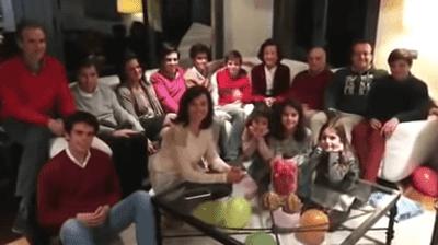 José y su familia / Imagen tomada de: YouTube/ Actuall