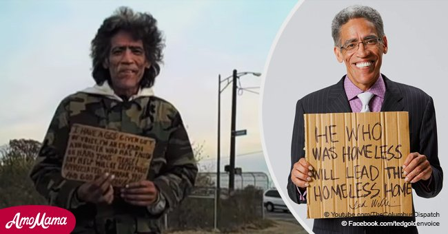 Inspiring story about a homeless man who became a viral sensation the moment he spoke