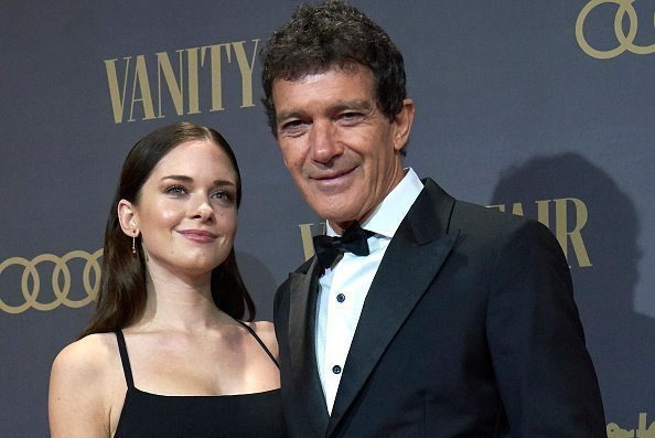 Antonio Banderas, Stella del Carmen Banderas attends the Vanity Fair awards 2019 photocall at Royal Theater in Madrid, Spain on Nov 25, 2019 | Photo: Getty Images
