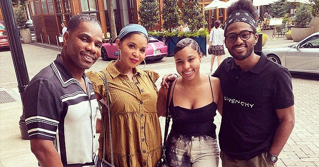 Kirk Franklin and Wife Tammy Pose with Their Grownup Kids in a New Photo – See It Here