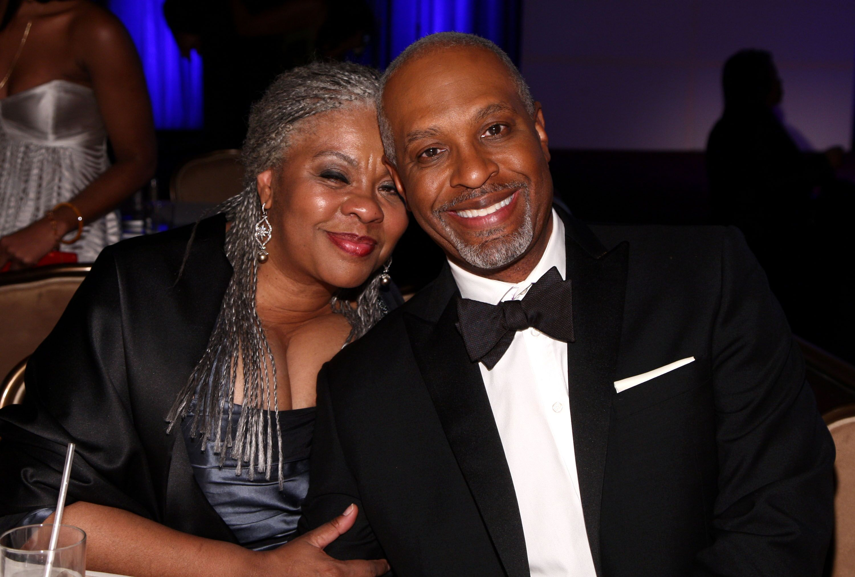 Actor James Pickens Jr and wife Gina Pickens at the after party for the 40th NAACP Image Awards on February 12, 2009 | Photo: Getty Images