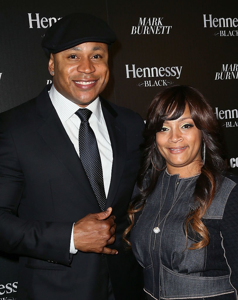 Actor LL Cool J (L) and wife jewelry designer Simone Smith attend the Hennessy Toasts Achievements In Music event with GRAMMY Host LL Cool J and Mark Burnett at The Bazaar at the SLS Hotel Beverly Hills | Photo: Getty Images