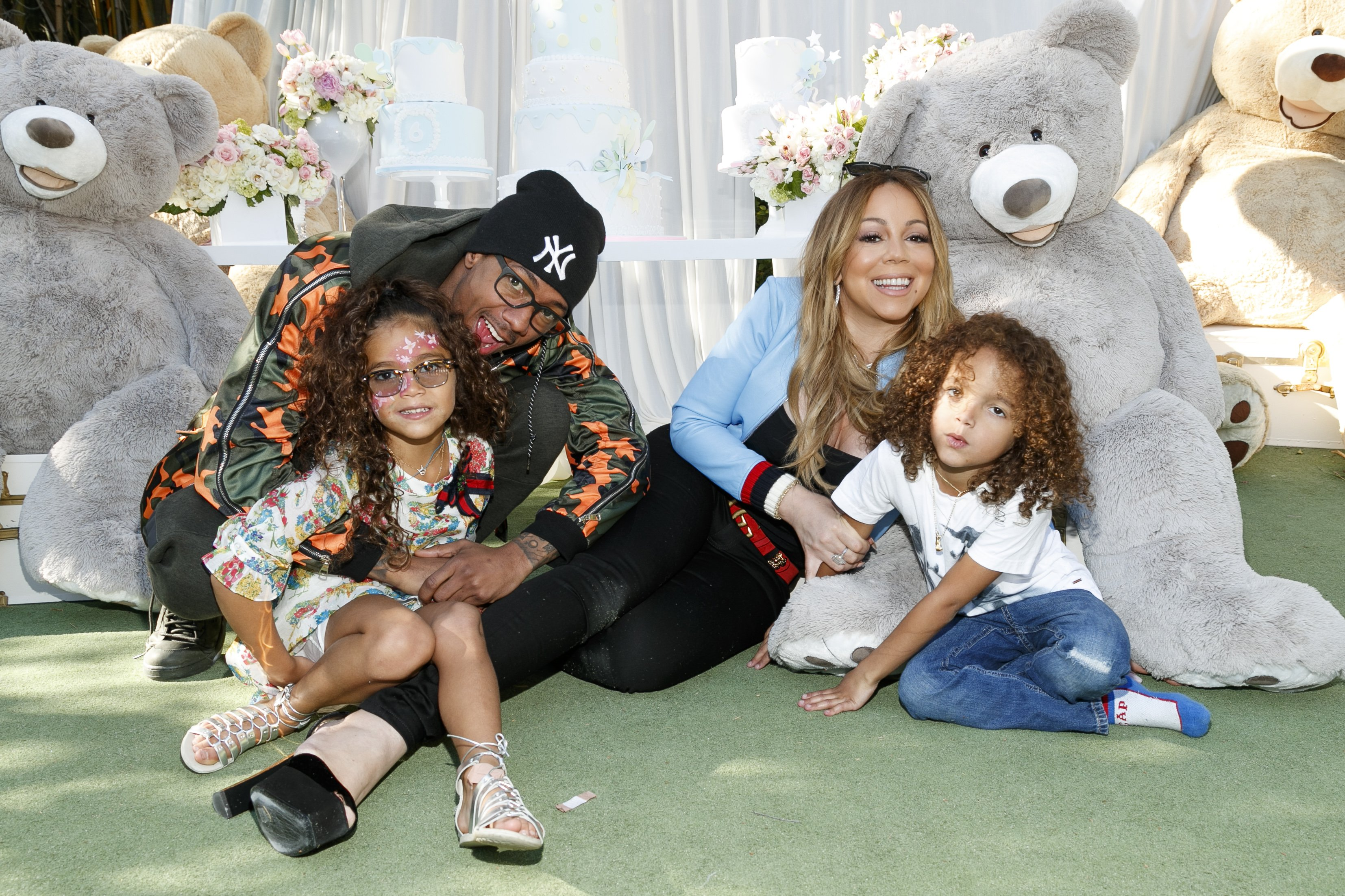 Mariah Carey and Nick Cannon celebrate Monroe and Moroccan's birthday on May 13, 2017, in Los Angeles, California. | Source: Getty Images