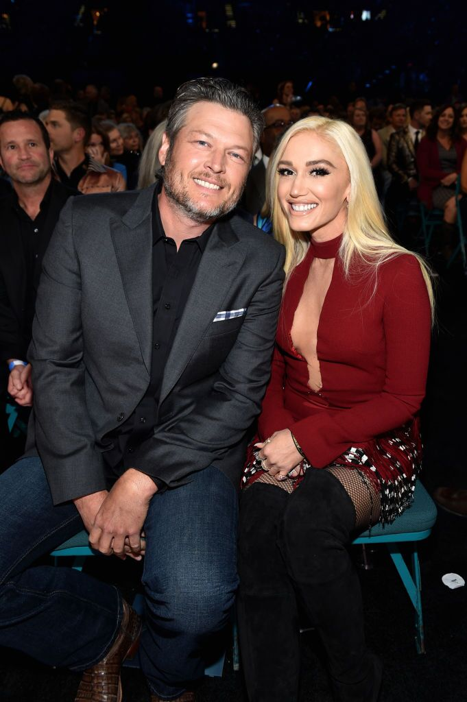 Blake Shelton and Gwen Stefani attend the 53rd Academy of Country Music Awards at MGM Grand Garden Arena  | Getty Images