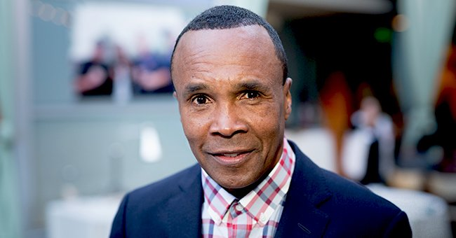 Sugar Ray Leonard Enjoys a Golf Day with His Son — Did His Child Inherit His Eyes & Eyebrows?