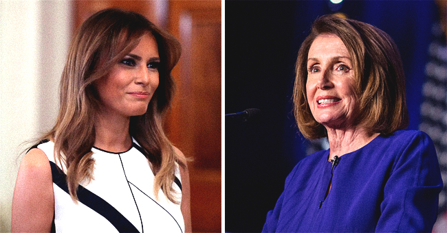 Washington Post Calls Nancy Pelosi a 'Fashion Icon,' but Melania Trump's Fans Totally Disagree