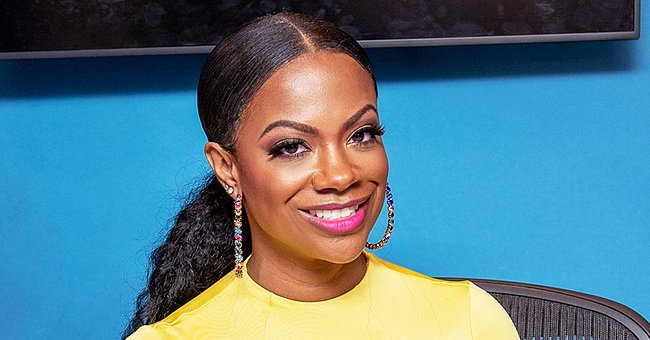 See How Kandi Burruss Celebrated Daughter Blaze's 8th Month Birthday with Son Ace