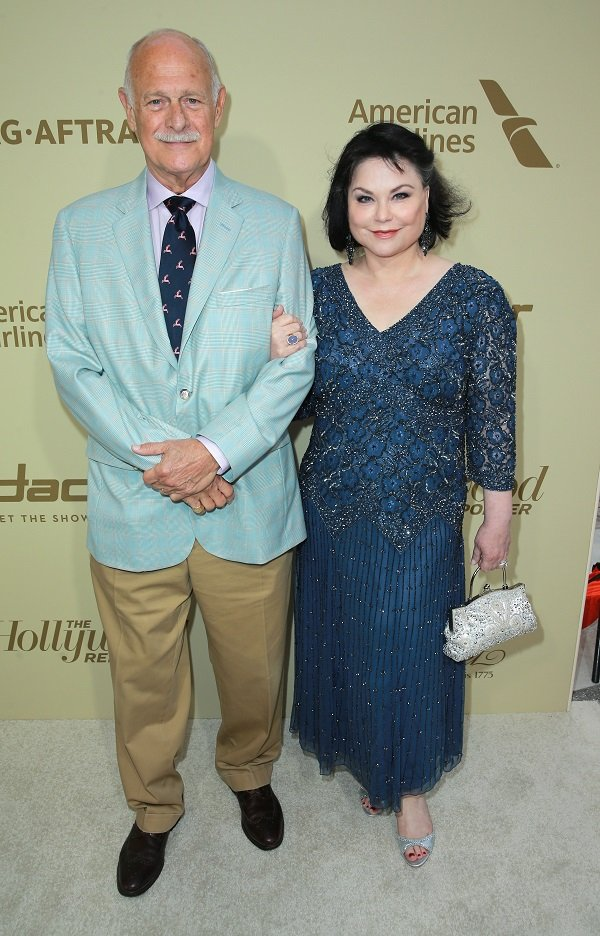 Gerald McRaney and Delta Burke on September 14, 2017 in Beverly Hills, California | Source: Getty Images