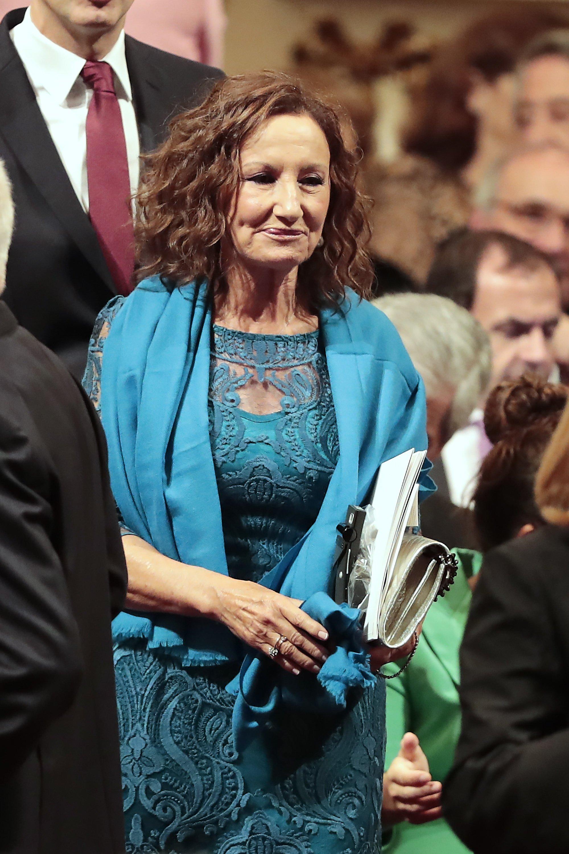 Paloma Rocasolano en los Premios Princesa de Asturias 2018 en el Teatro Campoamor, Oviedo, España. | Imagen: Getty Images/GlobalImagesUkraine