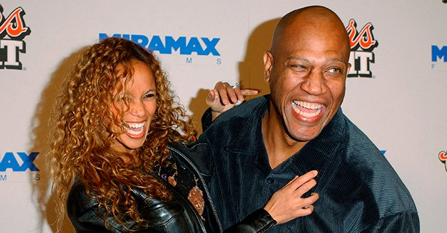 """Tiny Lister and Felicia Forbes arrive at the Los Angeles premiere of """"My Baby's Daddy"""" on January 8, 2004 at the Egyptian Theatre, in Hollywood, California 