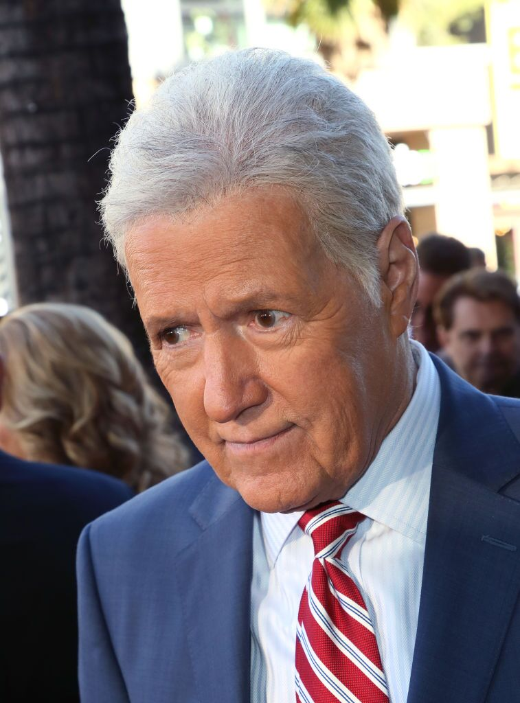 Alex Trebek attends Harry Friedman's ceremony for a star on the Hollywood Walk of Fame on November 01, 2019, in California | Photo: David Livingston/Getty Images