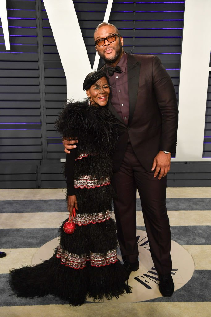 Cicely Tyson and Tyler Perry attend the 2019 Vanity Fair Oscar Party at Wallis Annenberg Center for the Performing Arts on February 24, 2019 in Beverly Hills, California. | Photo: Getty Images