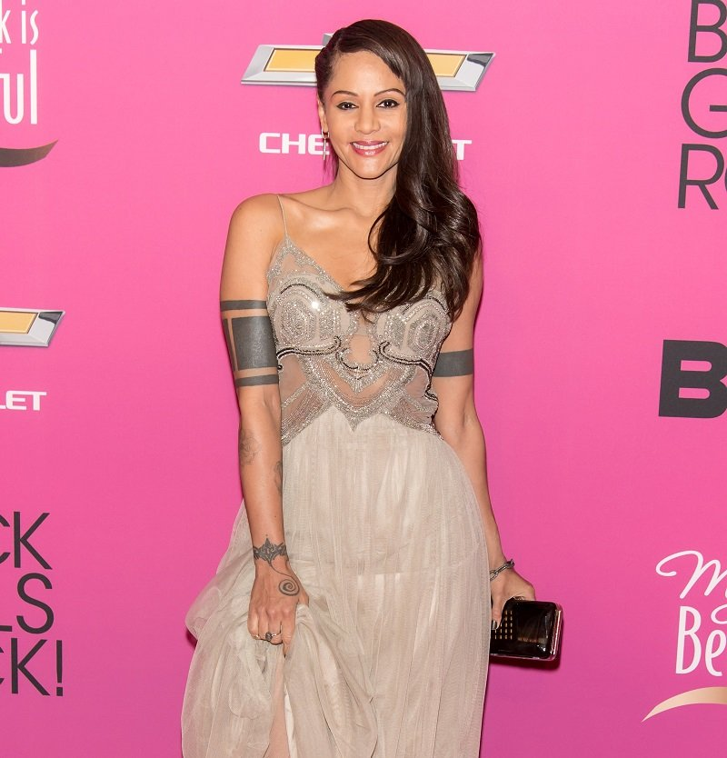 Persia White attends Black Girls Rock! 2013 at New Jersey Performing Arts Center on October 26, 2013   Photo: Getty Images