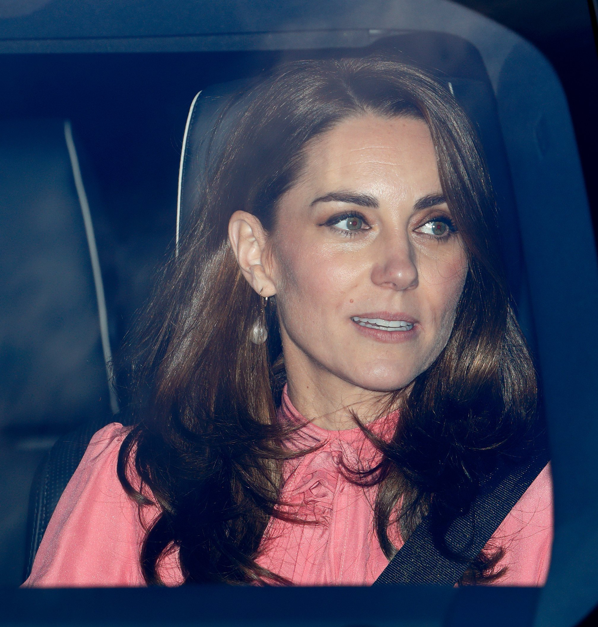 Kate Middleton, Duchess of Cambridge, attends a Christmas Lunch at Buckingham Palace on December 19, 2018 | Photo: Getty Images