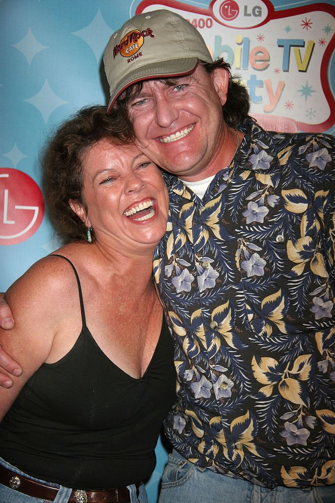 Erin Moran and Steve Fleischmann during LG Mobile TV Party in Hollywood on June 19, 2007   Source: Getty Images