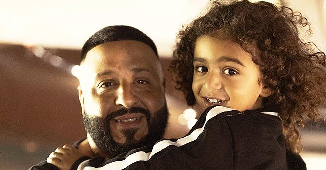 Dj Khaled's Adorable Baby Son Aalam Shows His Drawing of Dad in Video Amid Quarantine