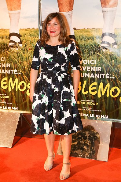 "Blanche Gardin lors de la première photocopie de ""Problemos"" Paris, à l'UGC Cine Cite des Halles le 9 mai 2017 à Paris, France. 