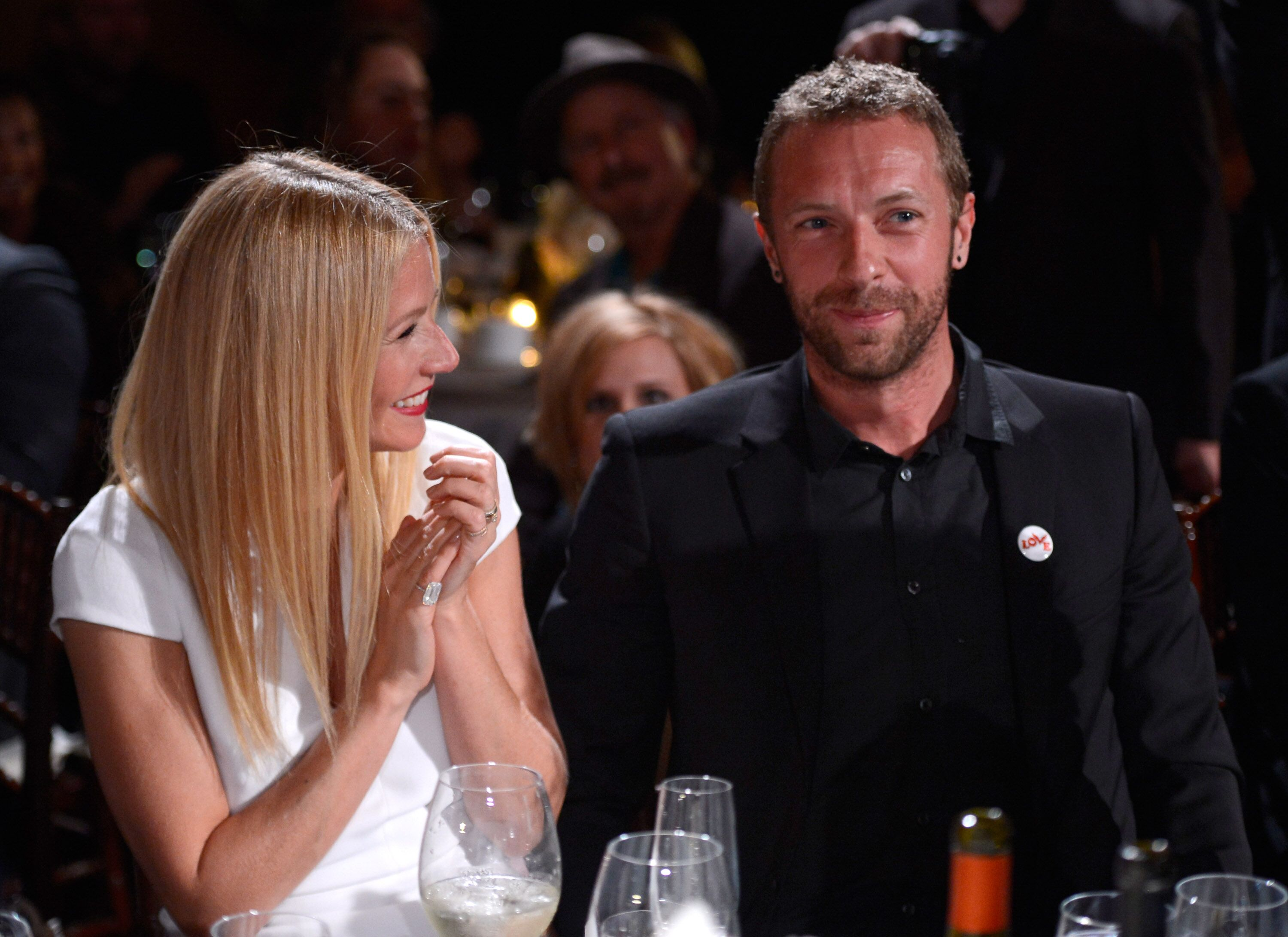 Gwyneth Paltrow and Chris Martin attend the 3rd annual Sean Penn & Friends HELP HAITI HOME Gala on January 11, 2014. | Photo: Getty Images