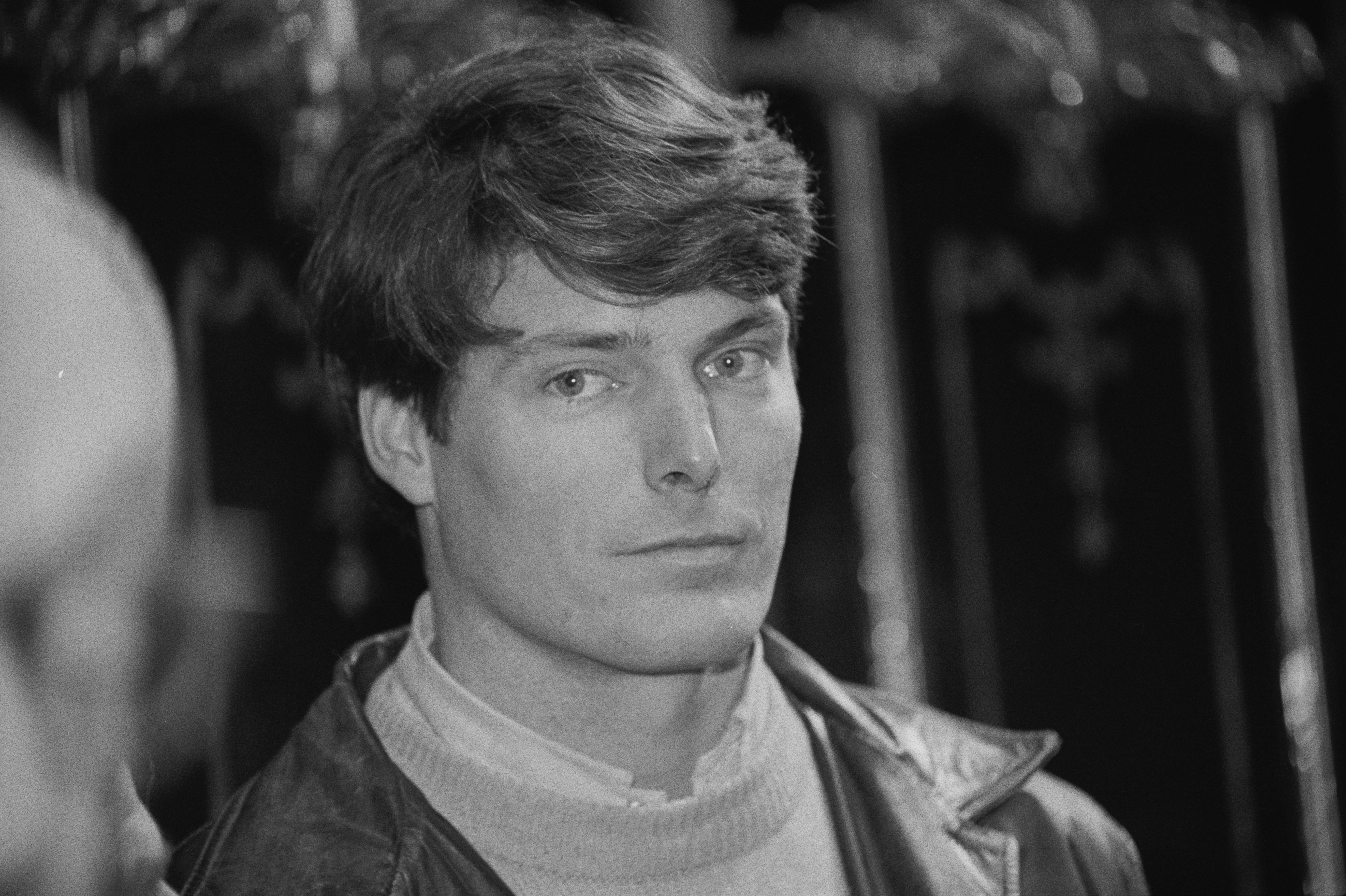 Young Chris Reeve closeup. UK, 1984 | Photo: Getty Images